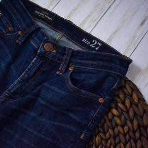 J. Crew Jeans - J. Crew Dark Wash High Rise Skinny Jeans S07